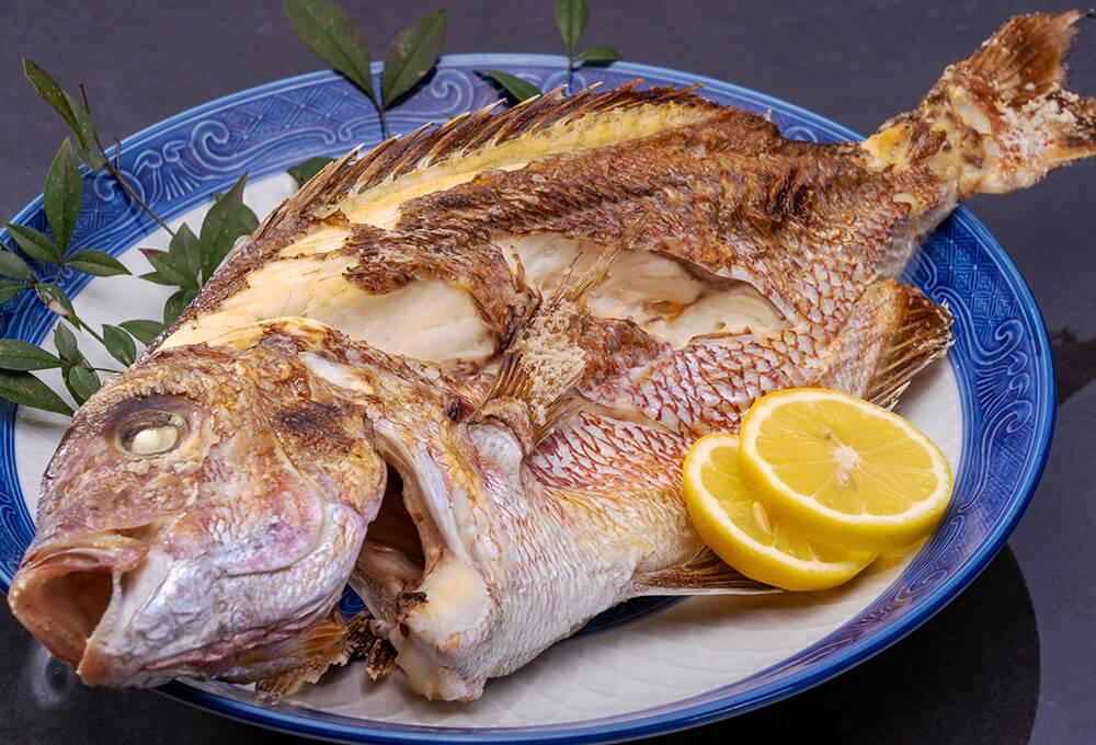 敦賀真鯛の姿焼き